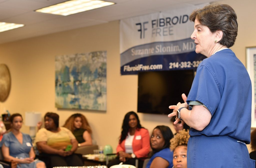 Fibroid treatment Dallas July mixer