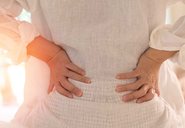 Fibroid symptoms back pain