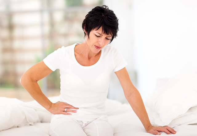 Fibroid treatment constipation