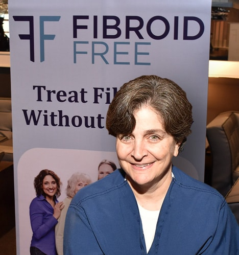 Fibroid Free banner with Dr. Suzanne Slonim
