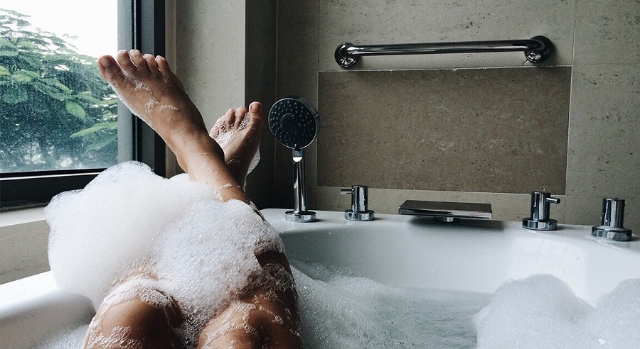Causes fibroids to grow relax stress-free bath
