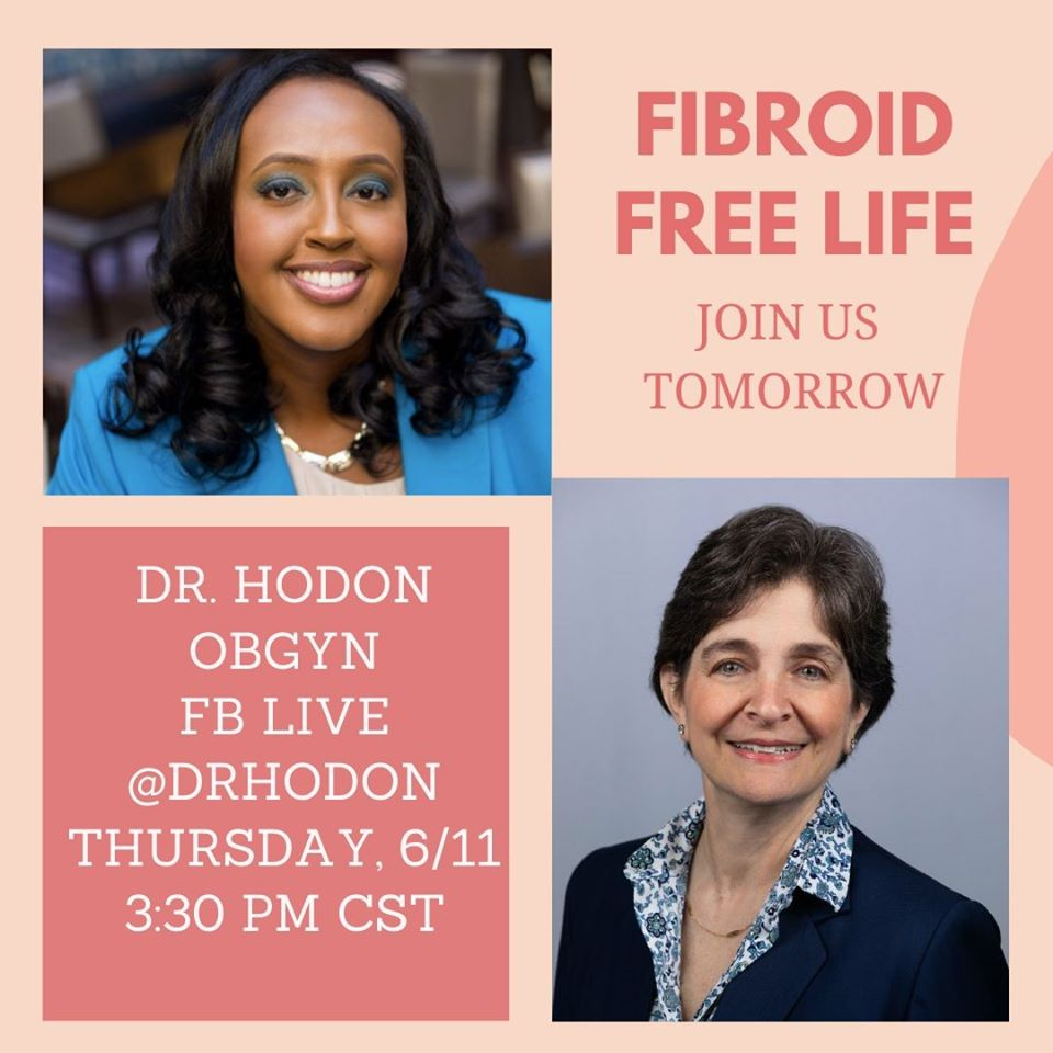 Best fibroid doctor FB Live interview