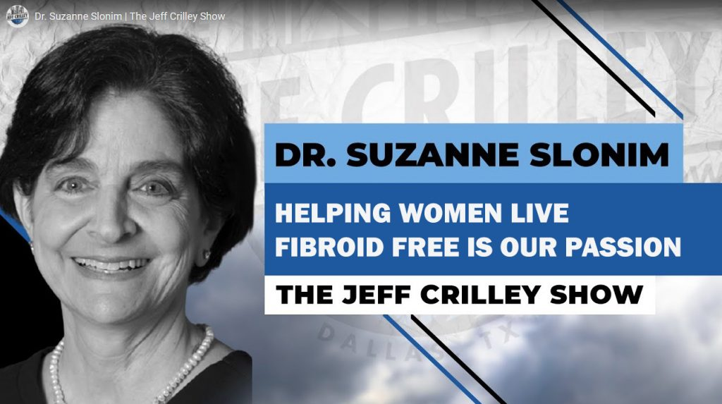 Best fibroid doctor on Jeff Crilley Show
