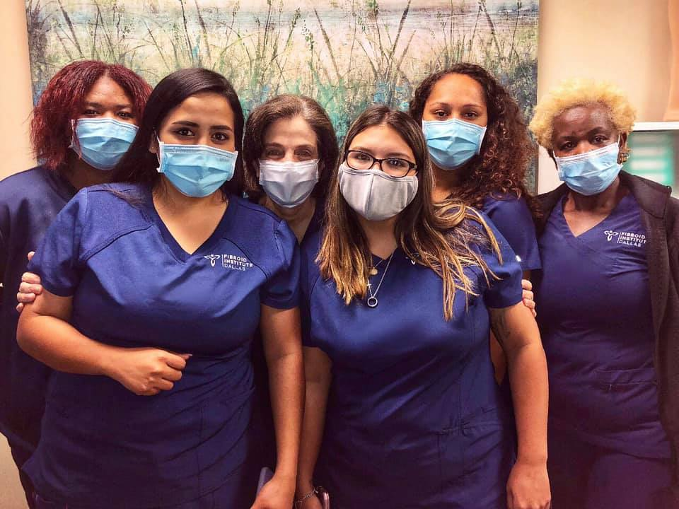 Fibroid doctor Dallas, TX fibroid team