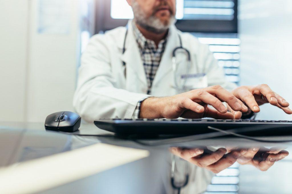 Physician burnout, doctor case log