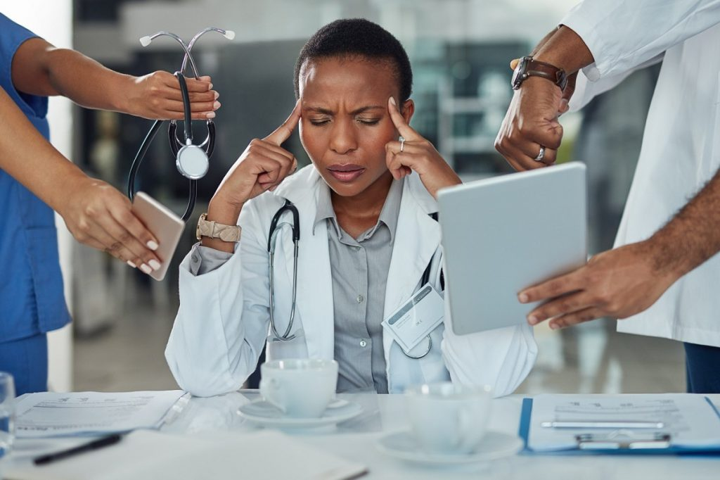 Physician burnout, doctor stress