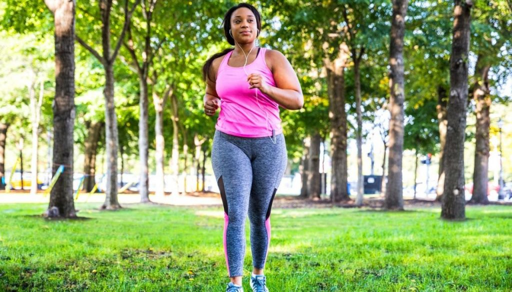Fibroids and weight gain exercise woman