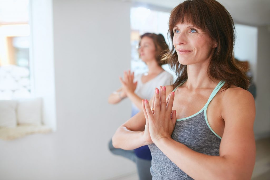 Menopause and fibroids exercise women