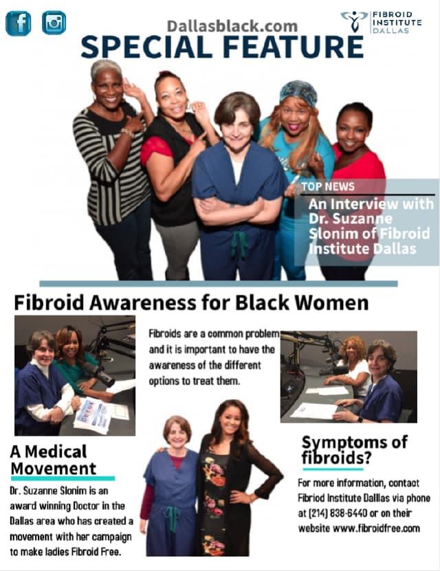DallasBlack.com Dr. Suzanne Slonim interview