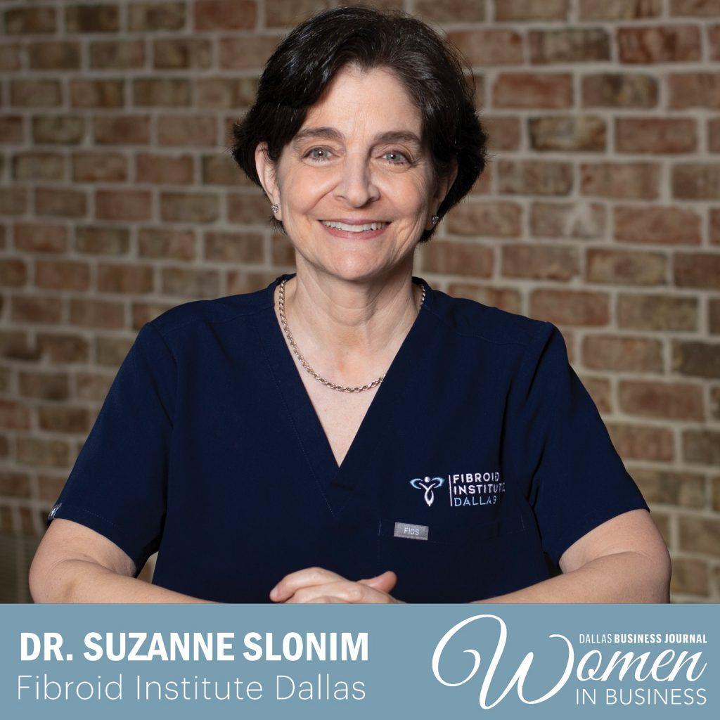 Dr Suzanne Slonim award winning doctor Dallas Business Journal